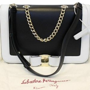 Salvatore Ferragamo  Vara Flap Crossbody Bag